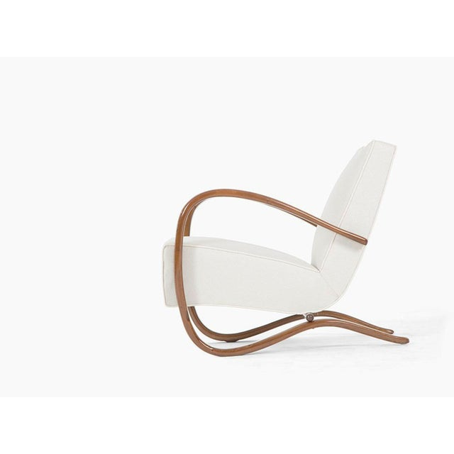 High End Art Deco H269 Beechwood Easy Chair By Jindrich Halabala