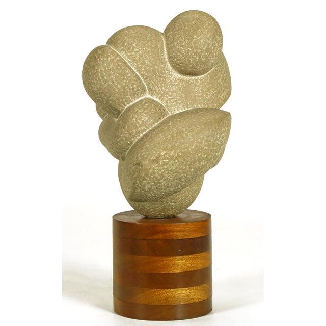 "Robert Lockhart 1960s Robert Lockhart Stone Sculpture Titled ""Dancers"" For Sale - Image 4 of 8"