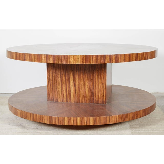 Mid 20th Century Rotating Modernist Coffee Table For Sale - Image 5 of 6