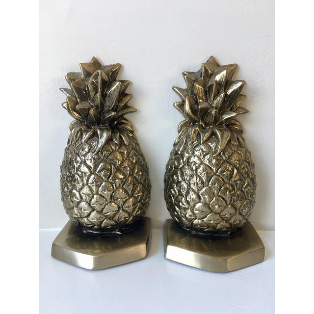 Palm Beach Regency Pineapple Bookends - a Pair - Image 2 of 4