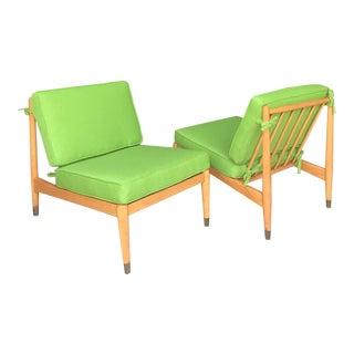 RestoredFolke Ohlsson Petit Lounge Chairs Dux For Sale