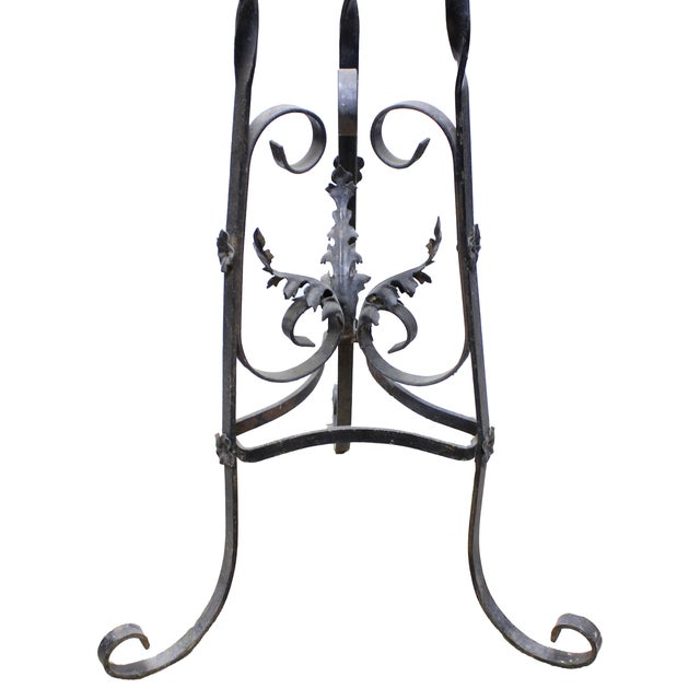 Wrought Iron Victorian Plant Stand - Image 2 of 2