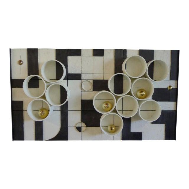 Modern Frieze Three-Dimensional Wall Art by Paul Marra For Sale