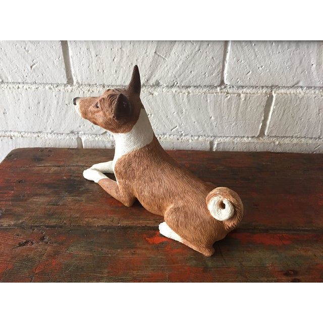 Basenji Dog Statue - Image 3 of 10