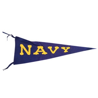 Vintage Naval Academy Pennant For Sale