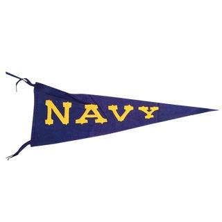 Vintage Naval Academy Pennant