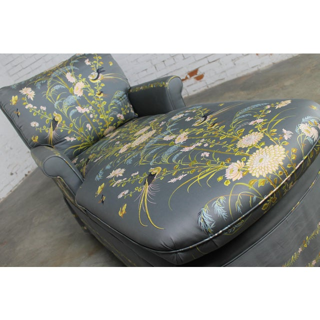 Vintage 1940's Newly Upholstered Double Armed Chaise Lounge - Image 3 of 11