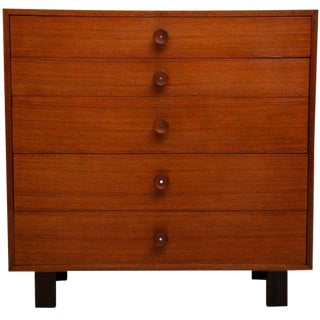 George Nelson Tall Dresser for Herman Miller For Sale