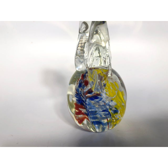 1960s Vintage Murano Glass Angel Figure For Sale - Image 5 of 6