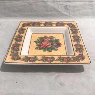 1990's Nina Campbell for Rosenthal Square Porcelain Tray Preview