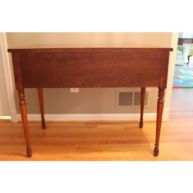 S maple wood dressing table chairish