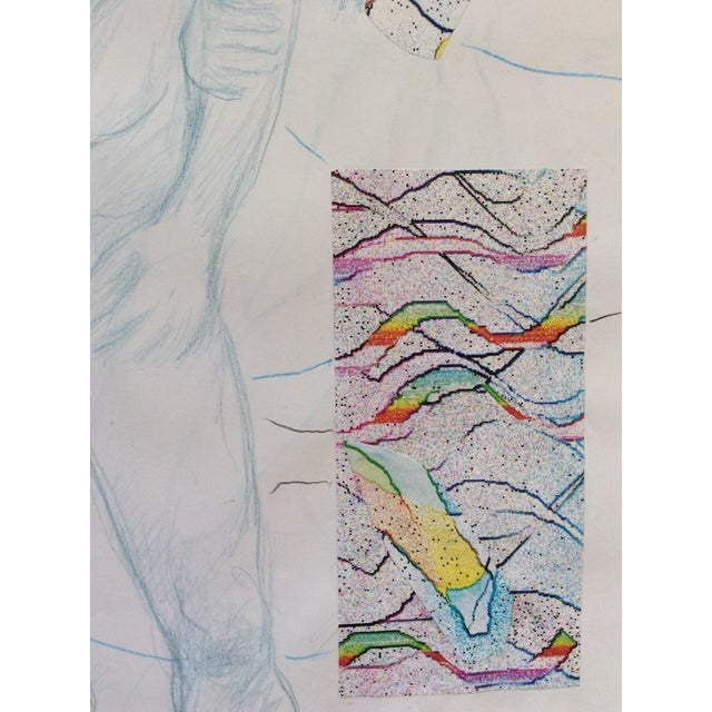 Contemporary Male Nude Collage by James Bone 1990s For Sale - Image 3 of 5