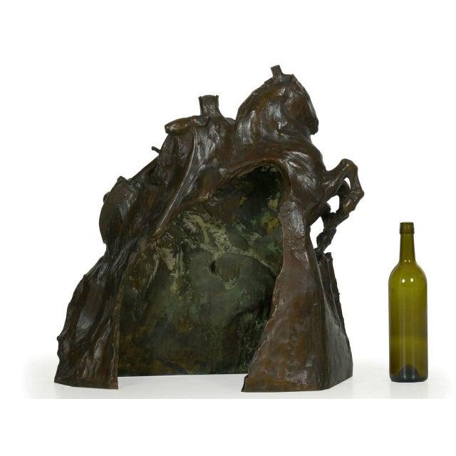 "Art Deco ""The Four Horsemen of the Apocalypse"" Bronze Sculpture by Lee Oscar Lawrie (German/American, 1877-1963) For Sale - Image 3 of 13"