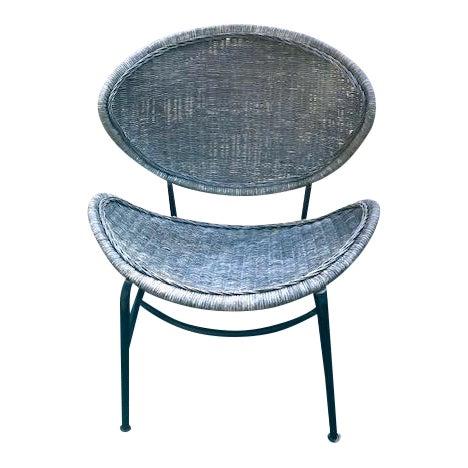 Mid Century Modern Salterini Clam Shell Chair For Sale