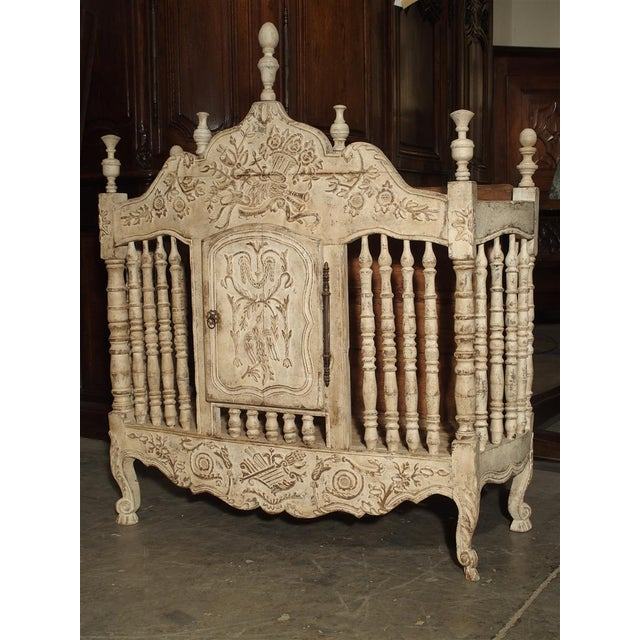 Painted 19th Century Panetiere From Provence, France For Sale - Image 13 of 13