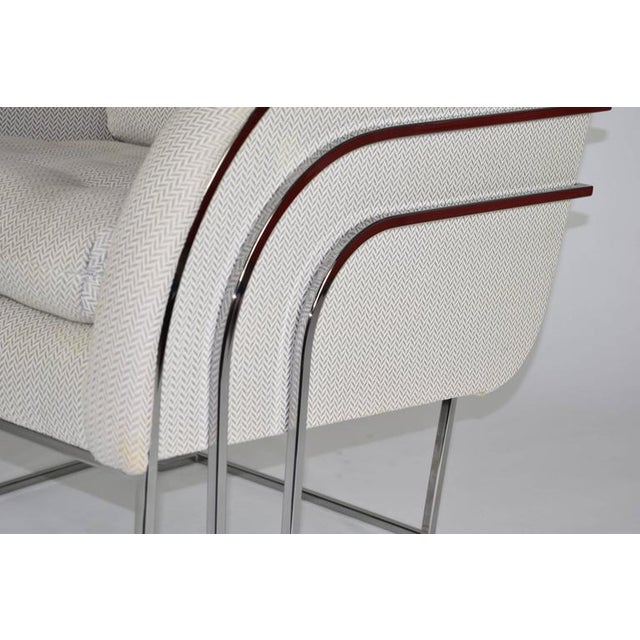 Mid-Century Modern Milo Baughman for Thayer Coggin Lounge Chair For Sale - Image 3 of 8
