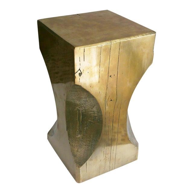 Bespoke Metallic Stool For Sale