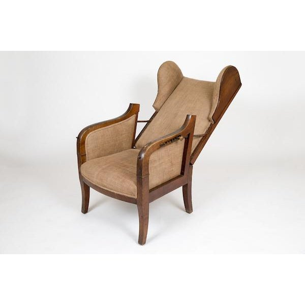 Reclining Wing Chair - Image 3 of 6