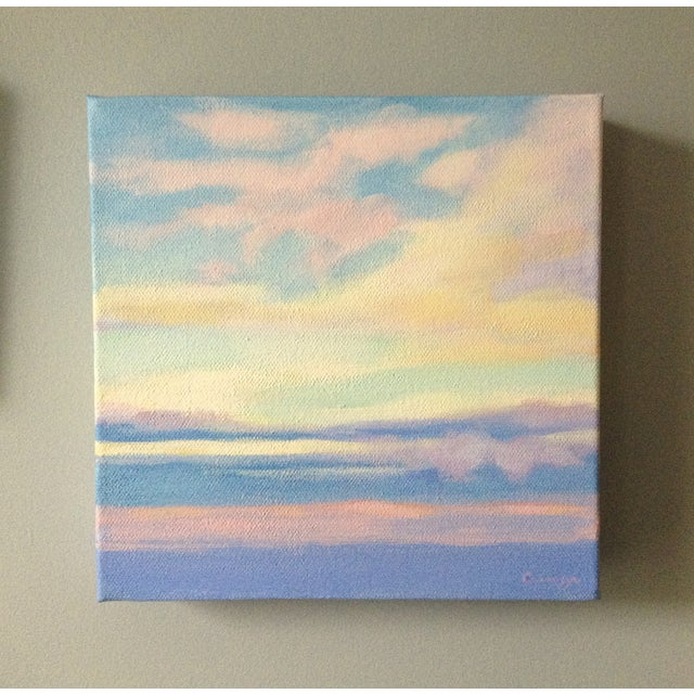 """Morning Sky"" Painting - Image 4 of 4"