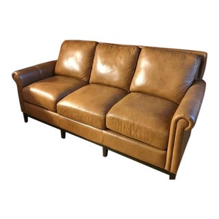 Vintage Omnia 3-Seat Leather Sofa