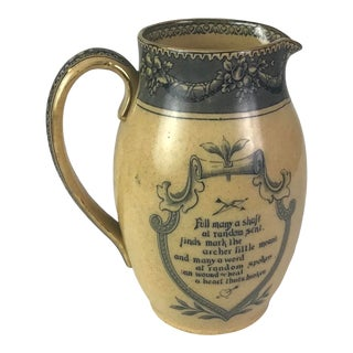 Royal Doulton Motto Pitcher For Sale