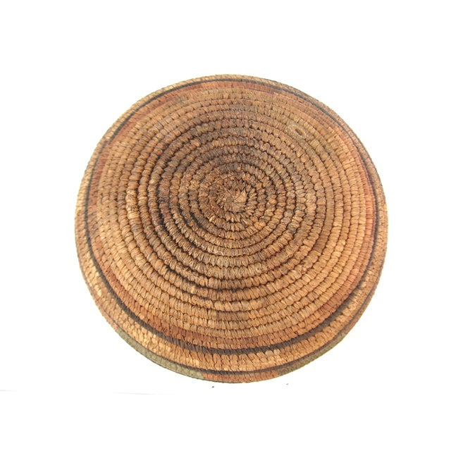 Native American Hand Woven Basket For Sale - Image 7 of 7