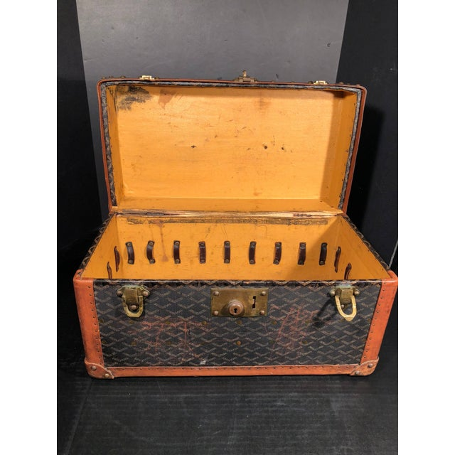 Goyard Goyard Jewelry or Valuables Trunk Train Case For Sale - Image 4 of 13