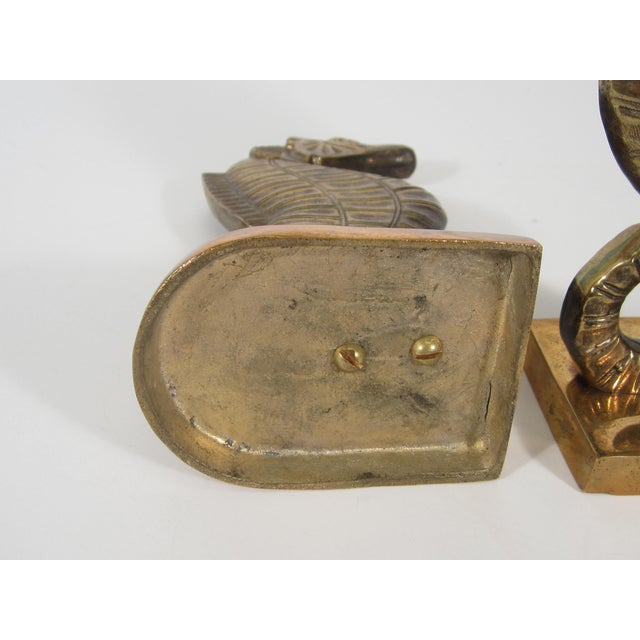 Brass Seahorse Bookends - Image 5 of 5