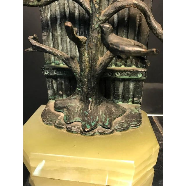 1970s Beautiful Pair of Bookends With Birds For Sale - Image 5 of 8