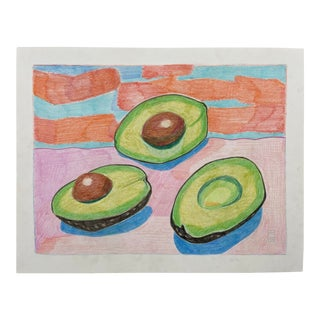 """Avocados"" Drawing For Sale"