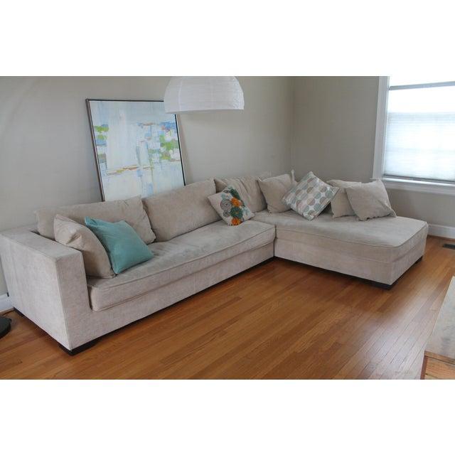 ligne roset rive gauche sofa chaise chairish. Black Bedroom Furniture Sets. Home Design Ideas