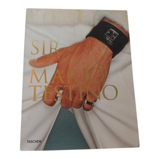 Sir Mario Testino by Tashen Soft Cover Coffee Table Book For Sale
