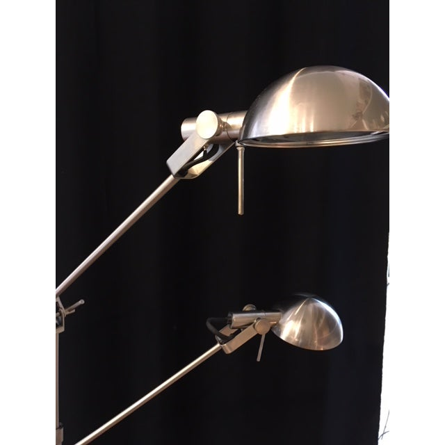 Adjustable Height Pharmacy Floor Lamp