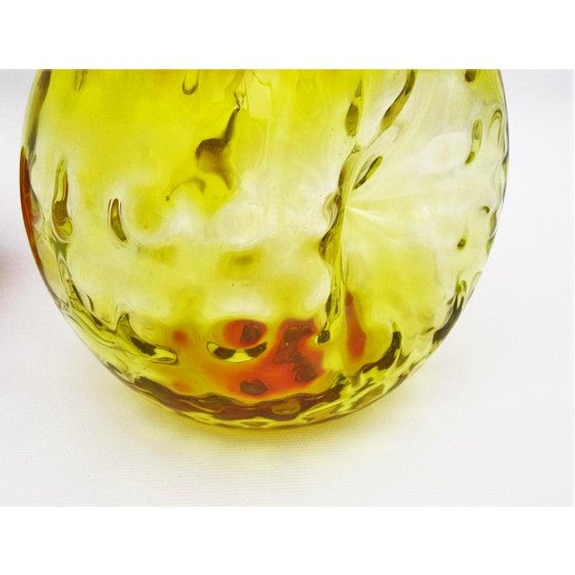 Mid-Century Blenko Amberina Glass Decanter - Image 8 of 11
