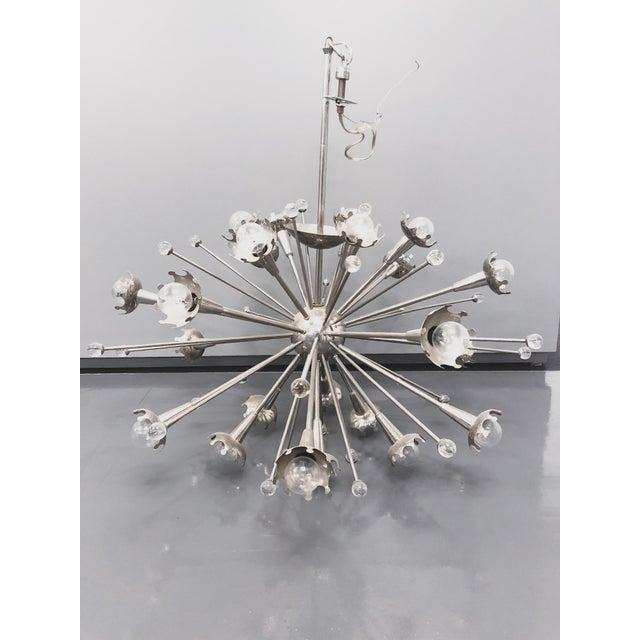 Mid-Century Modern Jonathan Adler Sputnik Chandelier For Sale - Image 3 of 3