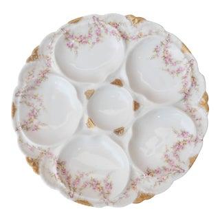 Porcelain Roses Oyster Plate