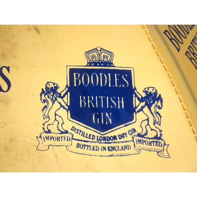 Vintage Boodles Gin Advertising Umbrella - Image 3 of 8