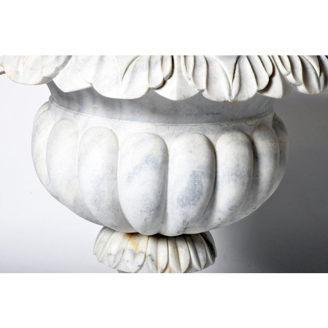 Pair of Marble Jardinières For Sale - Image 11 of 11