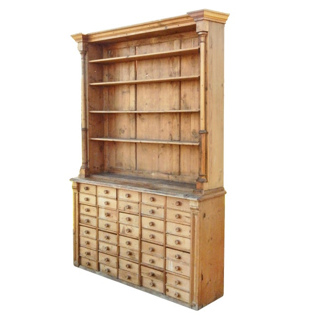 Unusual Pine Hutch For Sale - Image 4 of 8