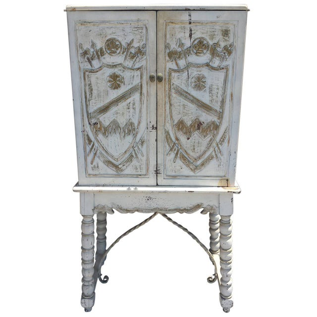English Country Painted Cabinet - Image 1 of 8