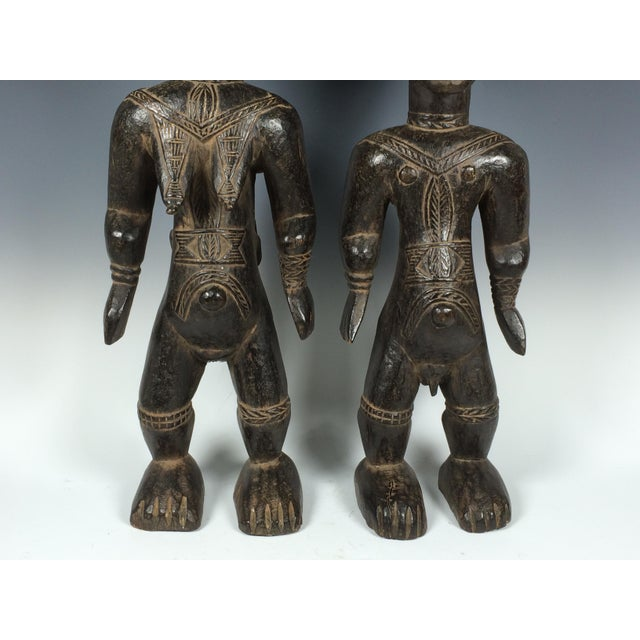 Ivory Coast African Dan Statues - A Par - Image 4 of 11