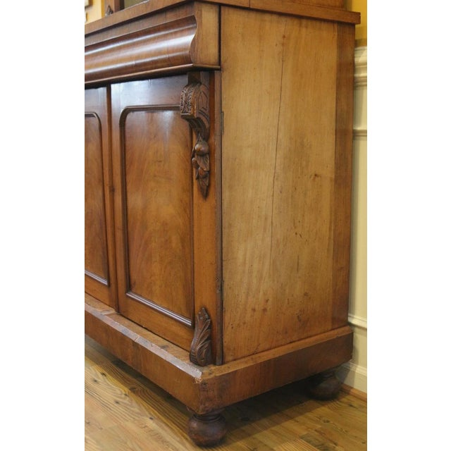19th Century Victorian Mahogany Display Cabinet For Sale In Raleigh - Image 6 of 10