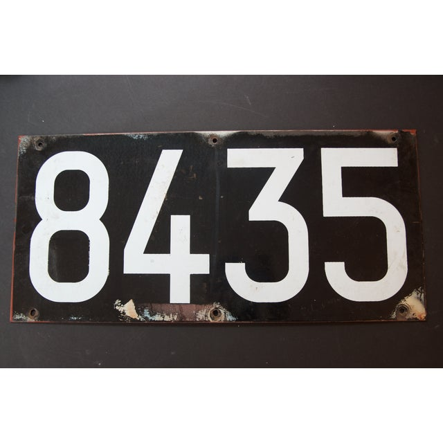 Enamel NYC Subway Plate from The Warriors Movie - Image 4 of 8