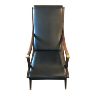 "Baker Furniture Andre Arbus ""Paquebot Chair "" For Sale"