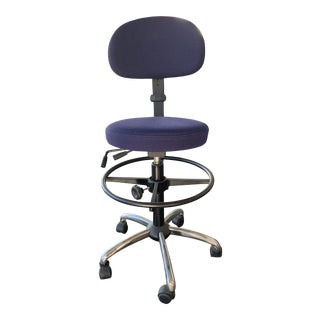 Scandinavian Business Seating Drafting Chair For Sale