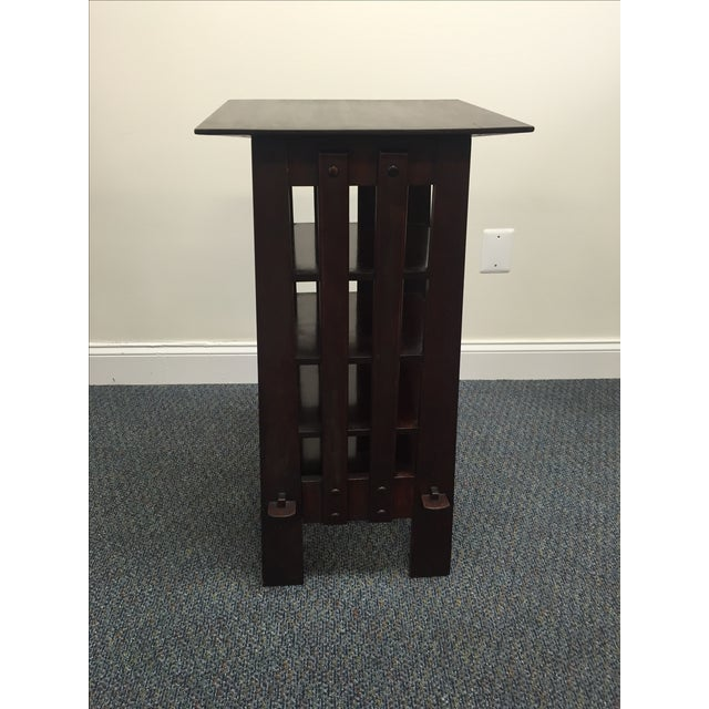 Michigan Chair Company Magazine Stand Side Table - Image 3 of 9