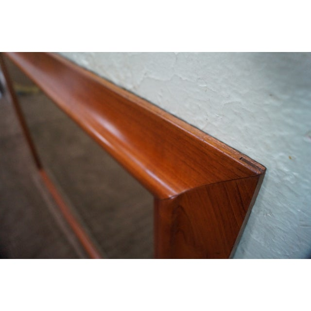 Stickley Solid Cherry Frame Rectangular Mirror For Sale - Image 7 of 10