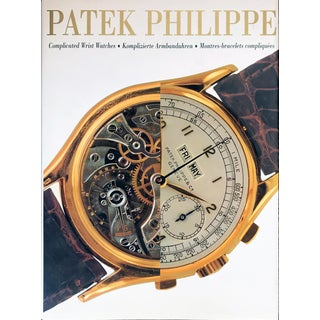 Patek Philippe Complicated Wrist Watches Coffee Table Book For Sale
