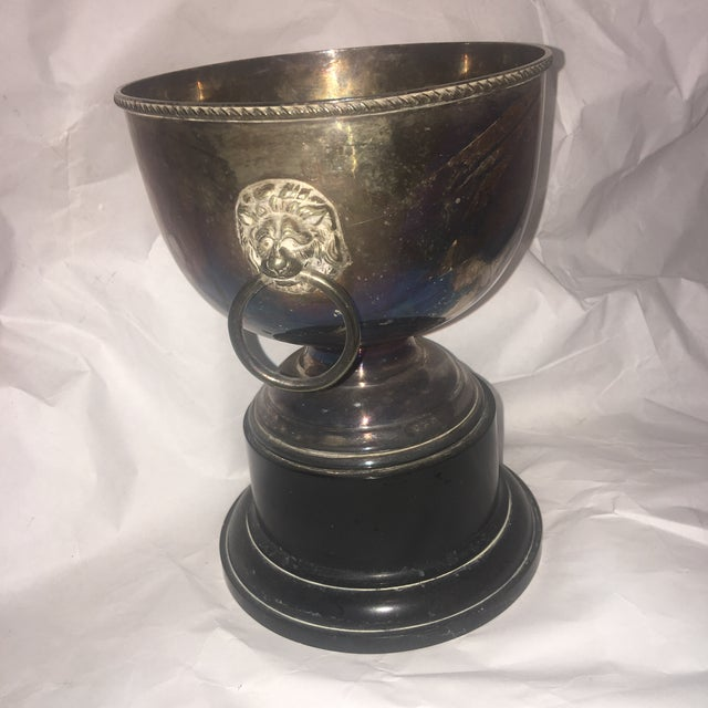 Antique English Silver Trophy Cup - Image 4 of 9