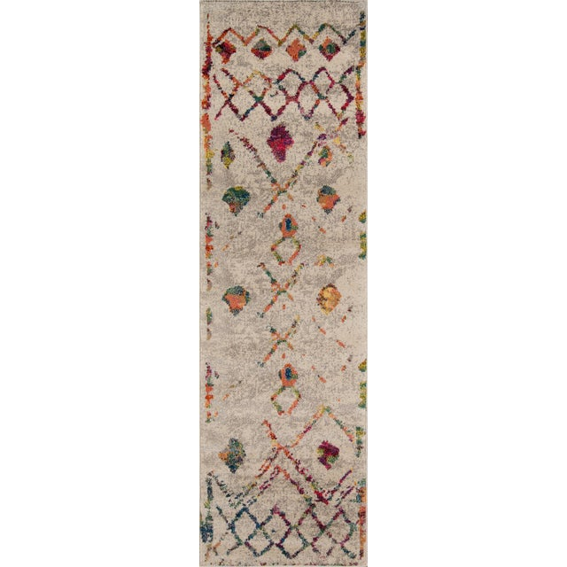 "2010s Contemporary Momeni Casa Polypropylene Beige Area Rug - 5'3"" X 7'6"" For Sale - Image 5 of 6"